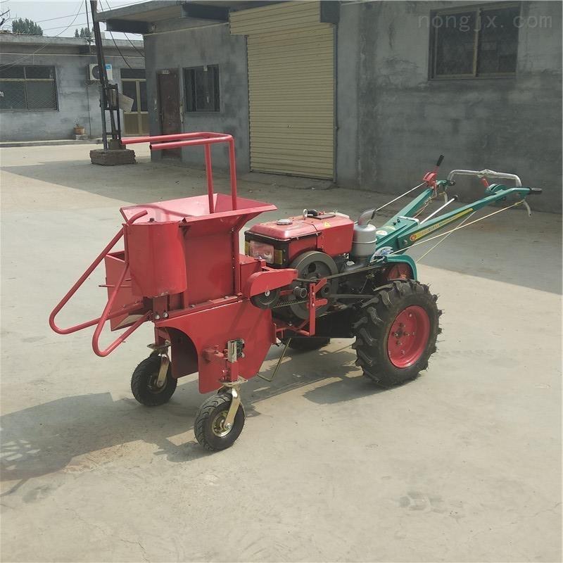 西和县电启动手扶玉米收获机价格