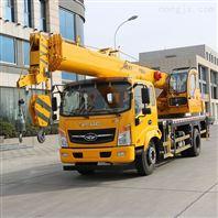 陕汽16吨吊车性能表 16吨汽车吊多少钱一台