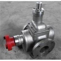 华潮牌YCB0.6/0.6铸铁电动双向圆弧齿轮泵