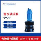 漯河市河道排灌700QZB潜水轴流泵浮筒式安装