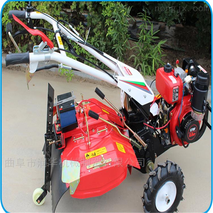 柴油大功率四驱开沟机 低耗能汽油微耕机