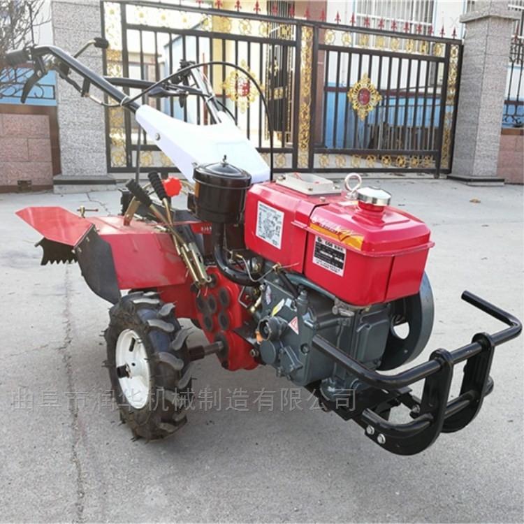大功率柴油微耕机 四驱多功能施肥开沟机