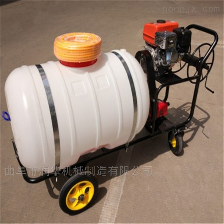 自动卷管汽油喷雾器 葡萄园打药喷雾机