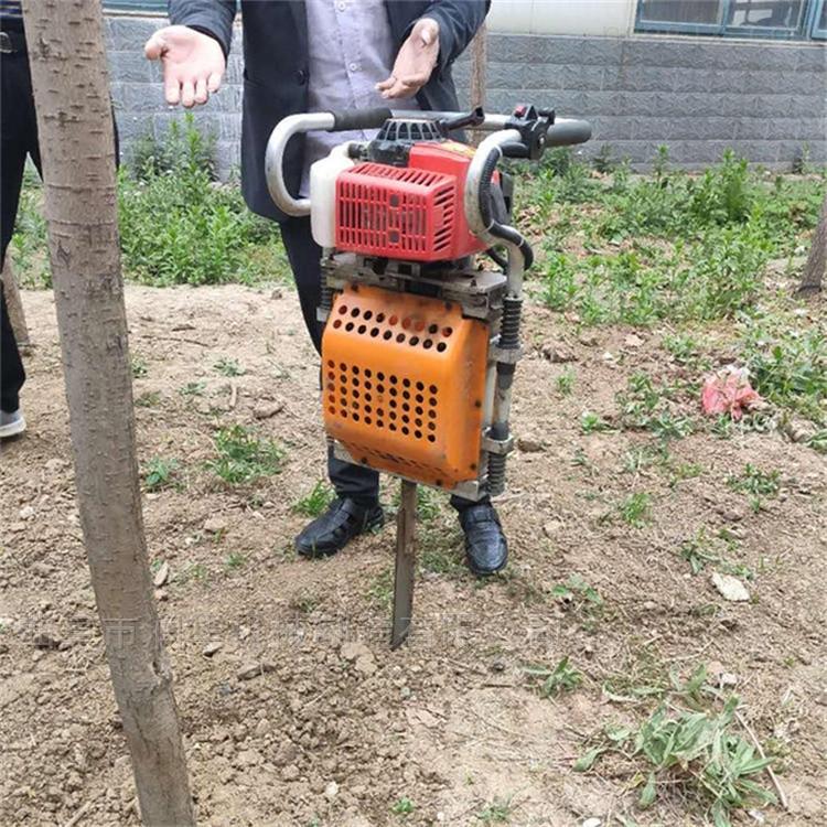 园林移苗手持式挖树机 高强度锯齿起树机