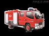 远程供水森林消防车