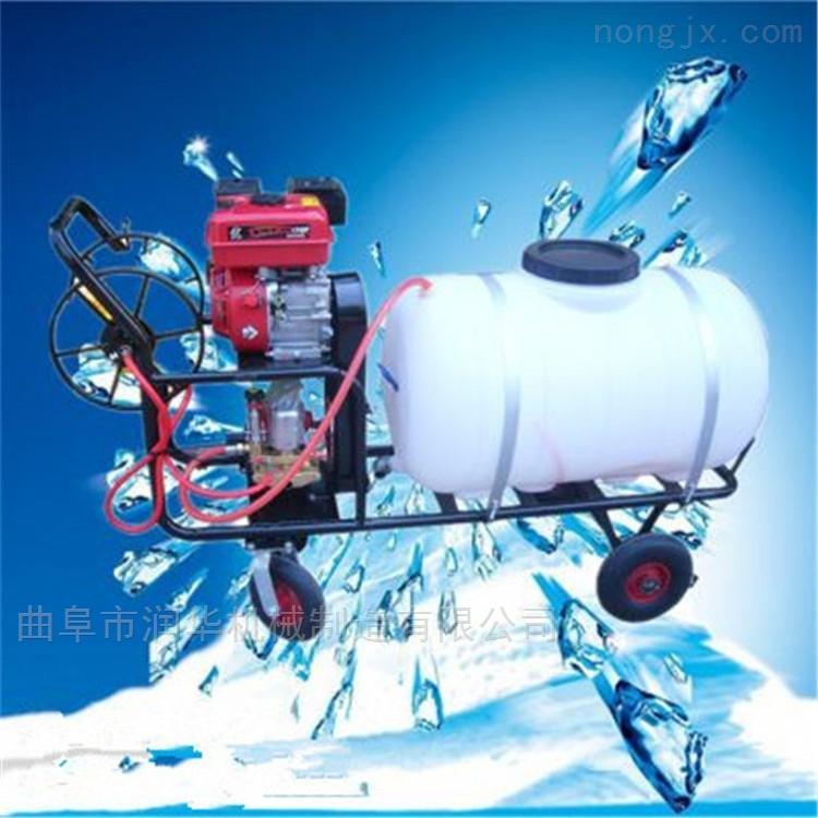 汽油7.5马力高压喷药机 社区消毒喷雾器