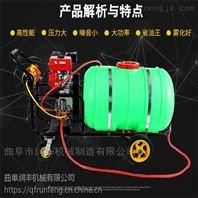 推车式消毒打药机 汽油高压300升喷雾器