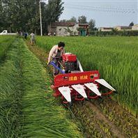 手扶自走式稻麦收割机