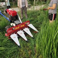 手推式稻草谷杆收割机