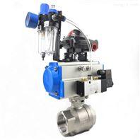 气动2PC内螺纹球阀Q611F卫生级螺纹切断球阀