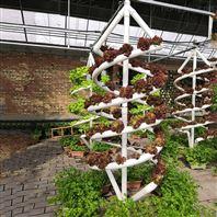 温室无土栽培 双螺旋管道 NFT栽培系统