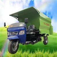 养殖设备柴油撒料车 自动抛料牛舍喂料车