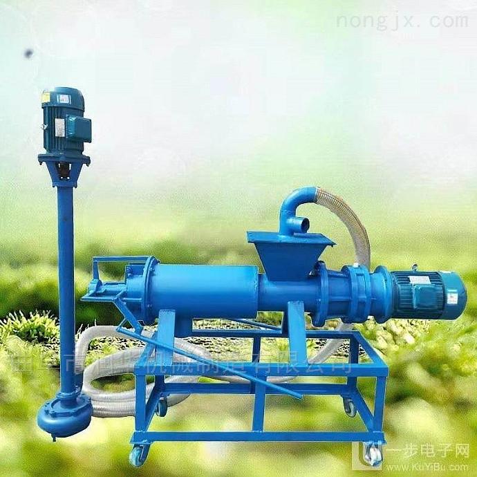 斜筛式粪便挤干分离机 螺旋挤压脱水挤干机