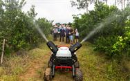 极飞R150农业无人车,将为果园植保管理带来什么改变?