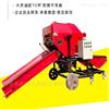 RF-DBJ-400养牛秸秆饲料打捆包膜机 青储稻草打包机